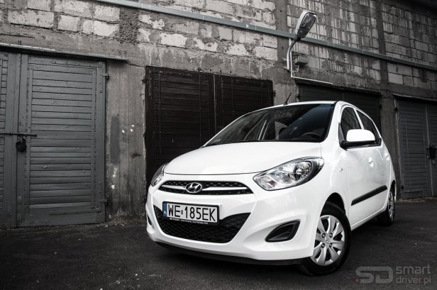 Hyundai i10 – test SmartDriver (1) - TEST: Hyundai i10 1,1 Comfort – mieszczuch z Korei
