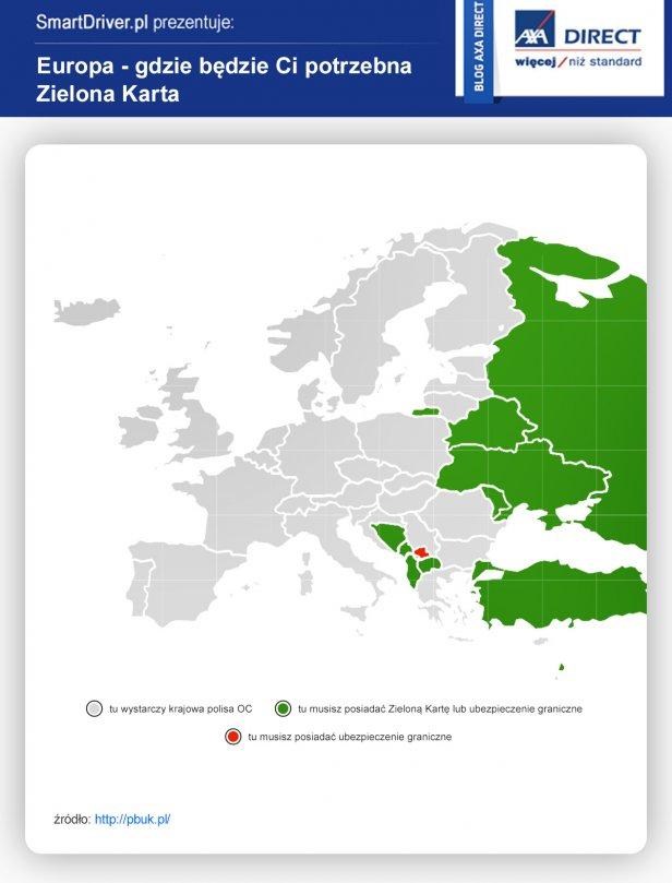 ZieKa_3 - Sprawdź, gdzie jest potrzebna Zielona Karta